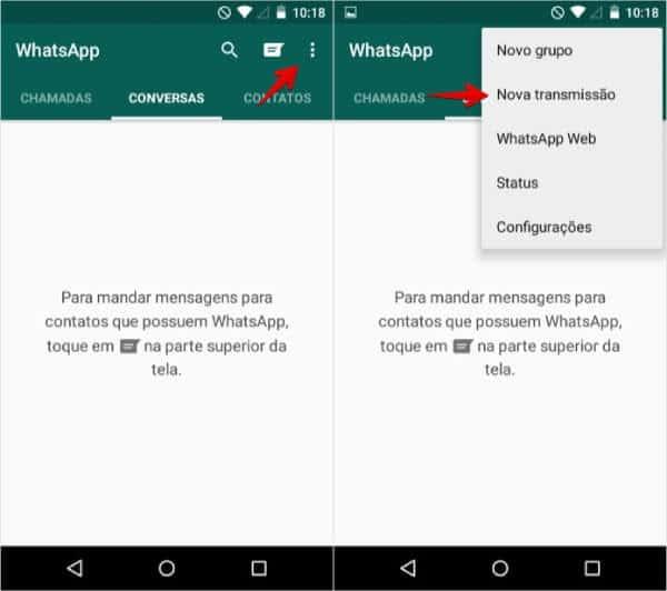 Engajamento no WhatsApp