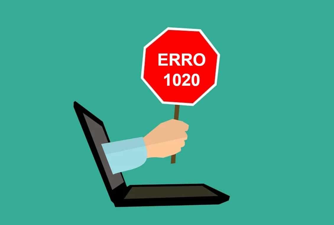 erro 1020 acesso negado