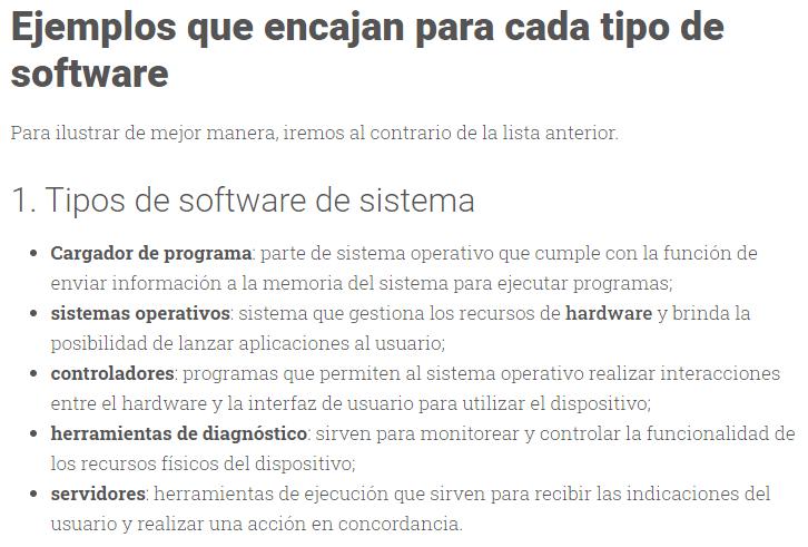 "Exemplo do post ""tipos de software"""