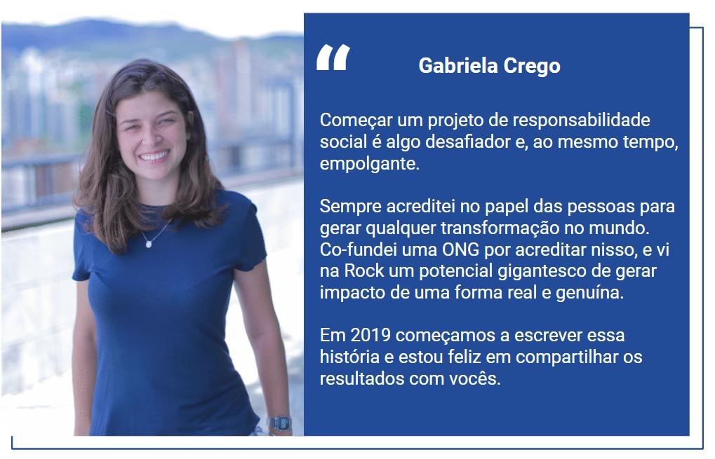 Depoimento Gabriela Crego