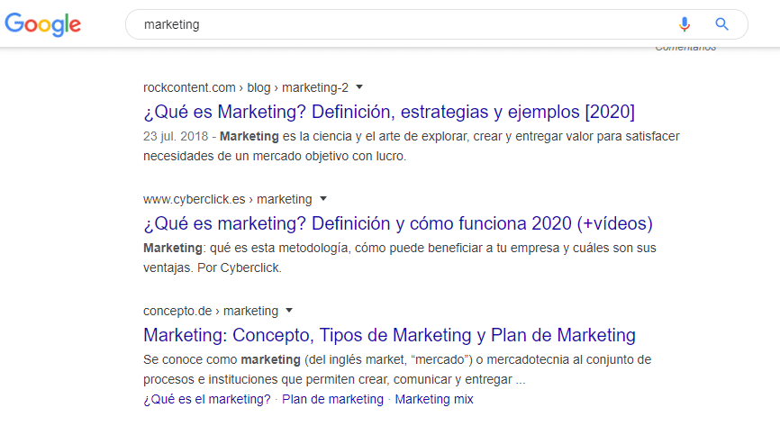 Pesquisa para marketing