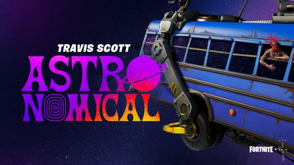 Astroworld no Fortnite