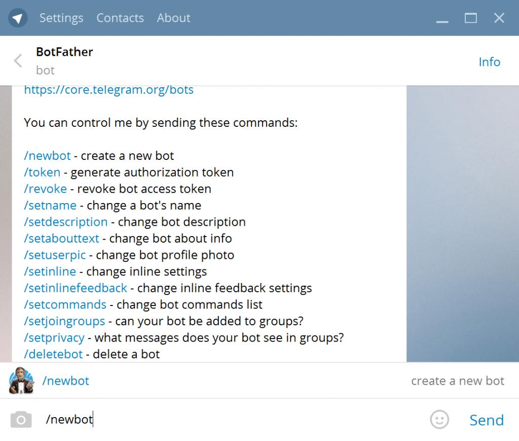 Bots para Telegram