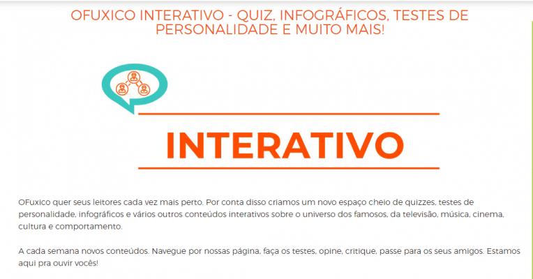 OFuxico interativo