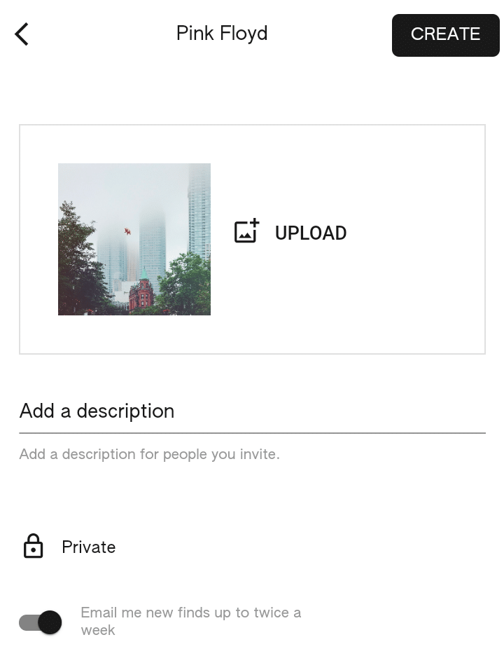 Fazer upload de post no Keen App