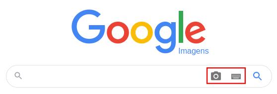 pesquisar imagem no Google