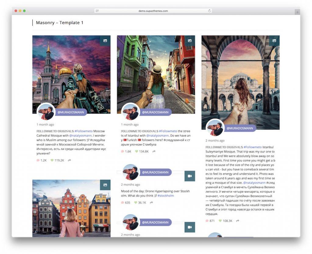 plugin instagram wordpress