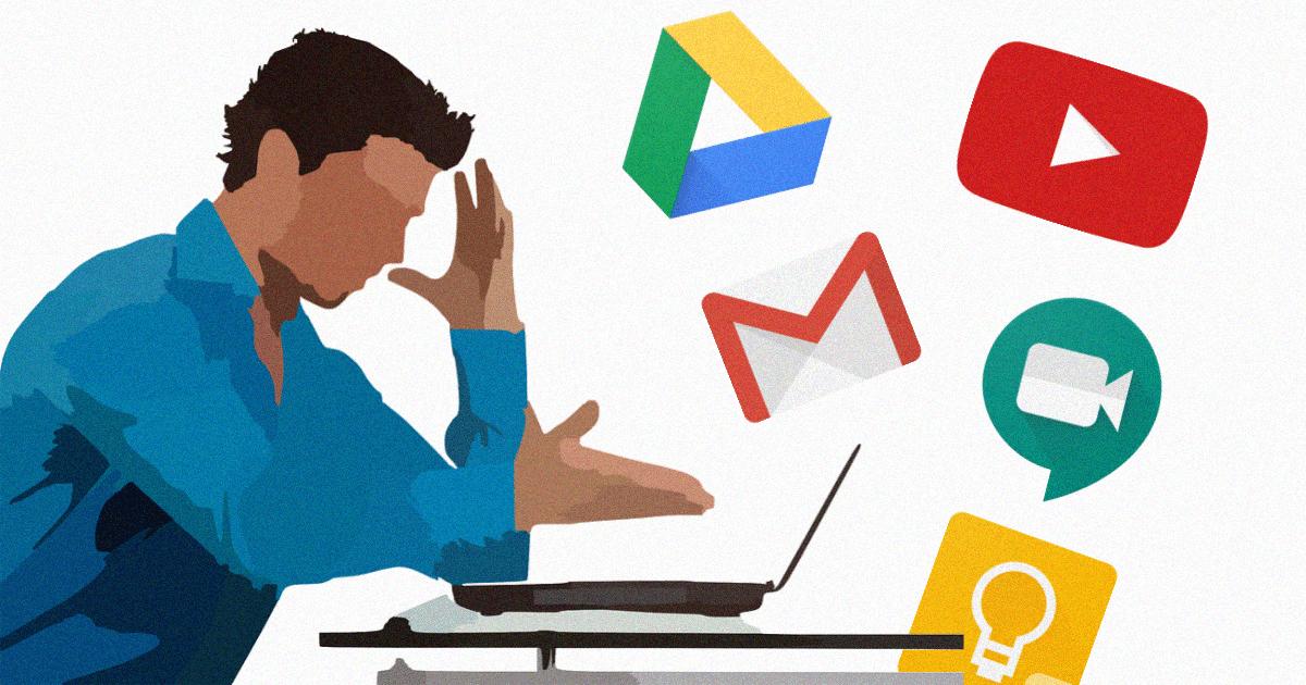 Usuários reportam que instabilidades afetaram serviços do Google