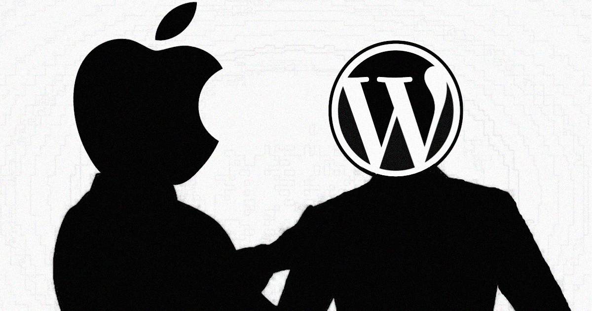 WordPress Apple