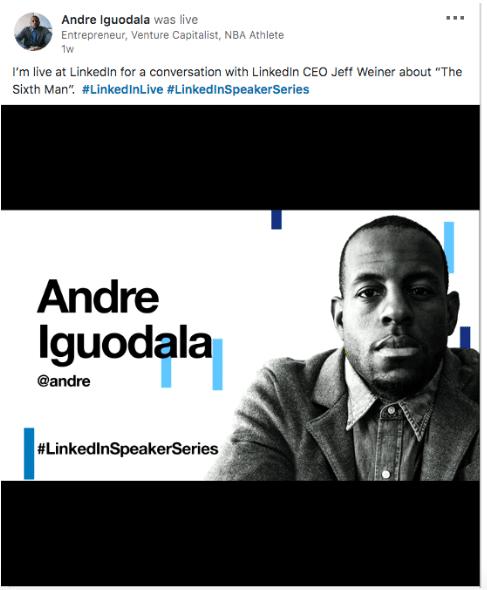 Live Andre Iguodala