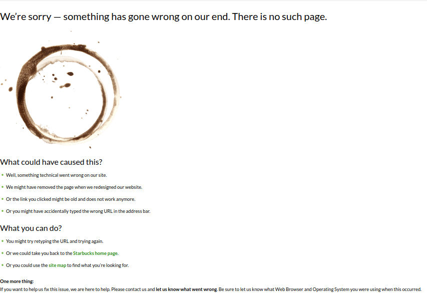 página de erro 404 personalizada