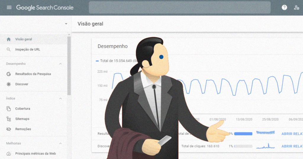 Google confirma atraso no relatório do Google Search Console