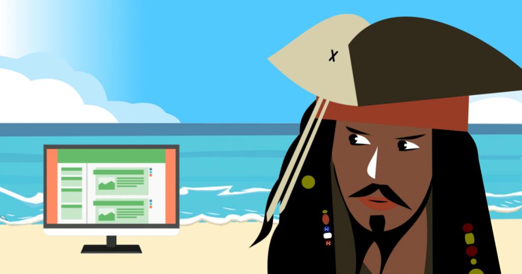 instalar tema pirata wordpress