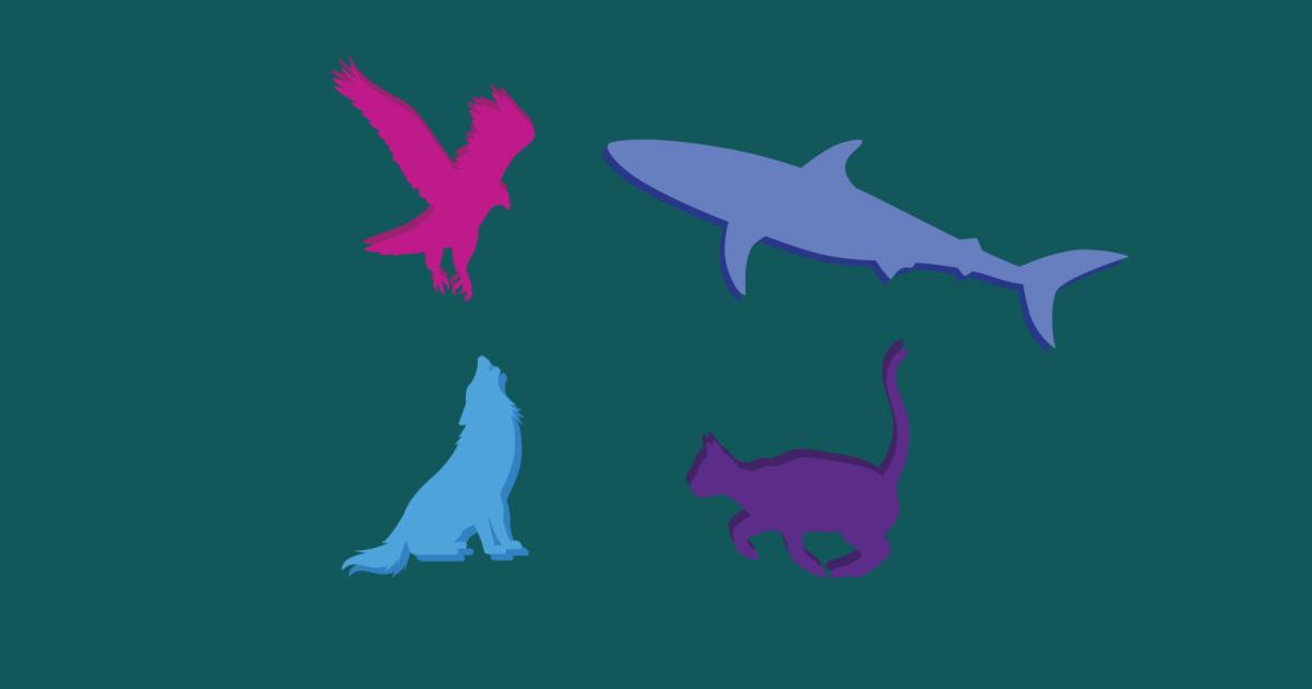 teste de personalidade animais águia gato lobo ou tubarão