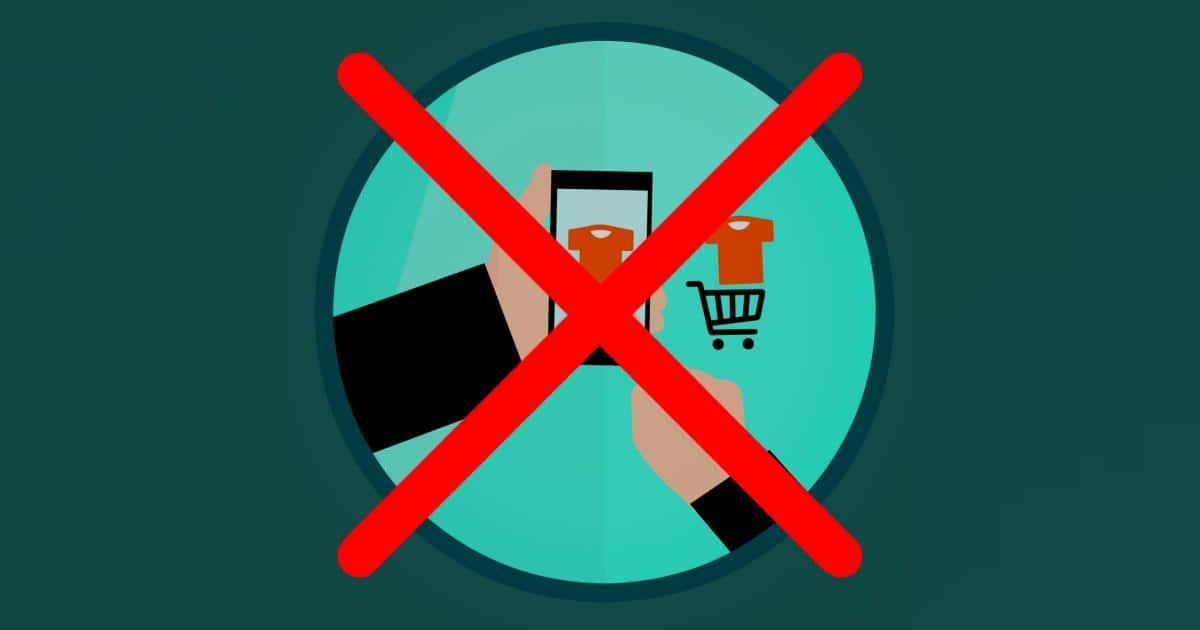 erros em sites de compras