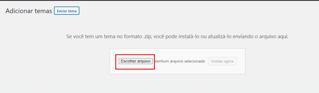 instalar template wordpress manualmente - instalar template zip file