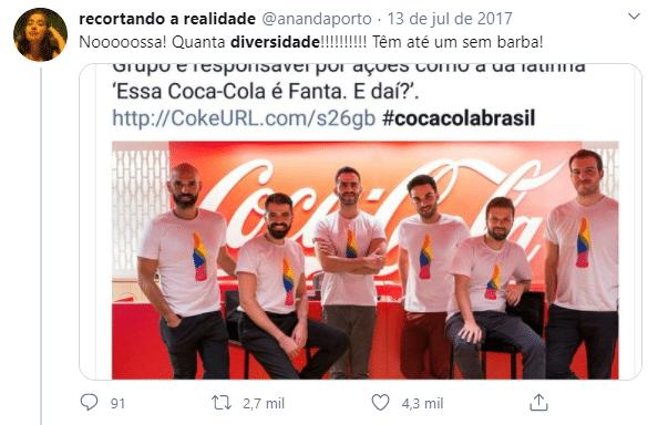 Falta de coerência marca Coca-Cola
