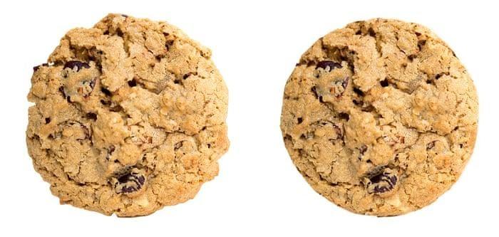Experimento cookies imperfeitos
