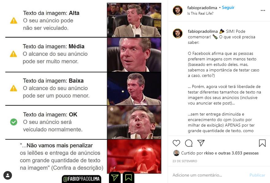 Exemplo Instagram