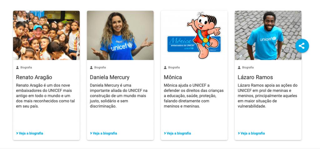 Embaixadores UNICEF