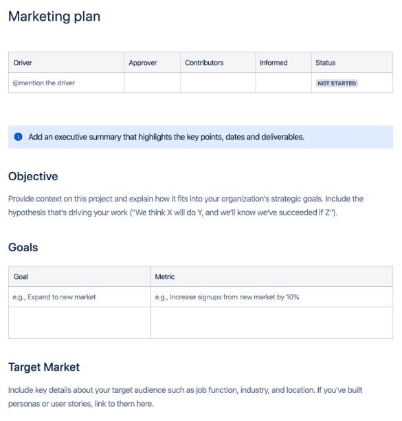 Plano de Marketing Atlassian