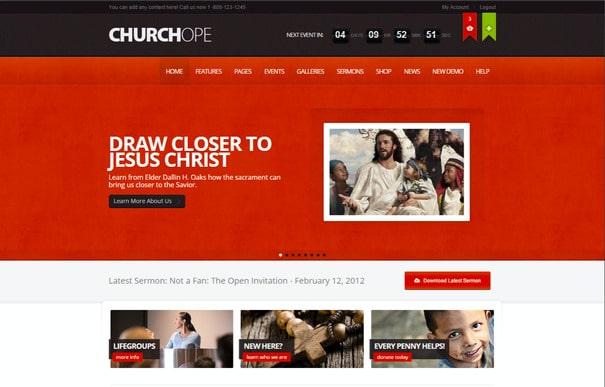 temas wordpress para igrejas