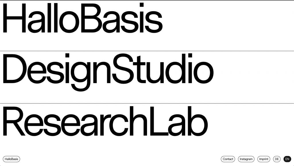 tendências de web design