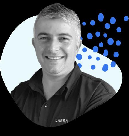 <strong>Anderson Lorenzini,</strong> CEO da Labra