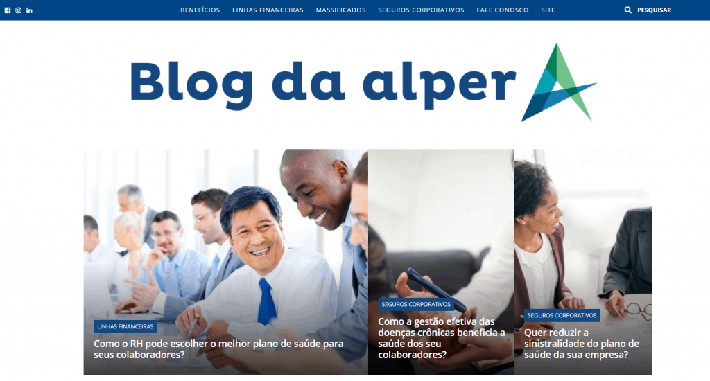 blog da Alper Seguros