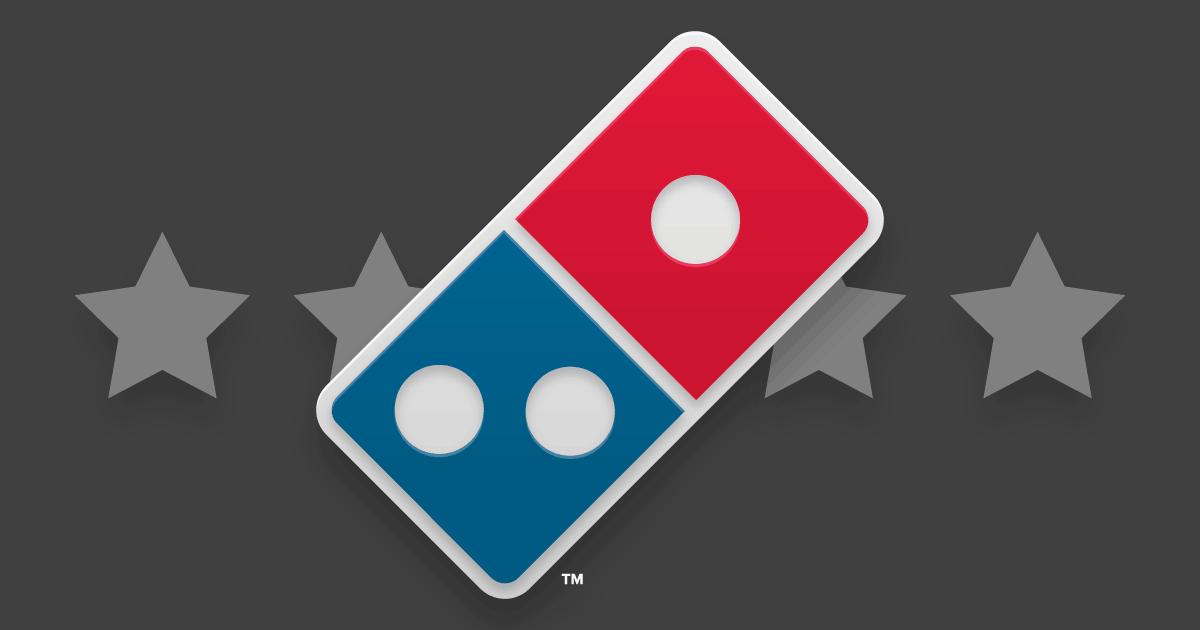 experiência do cliente Domino's