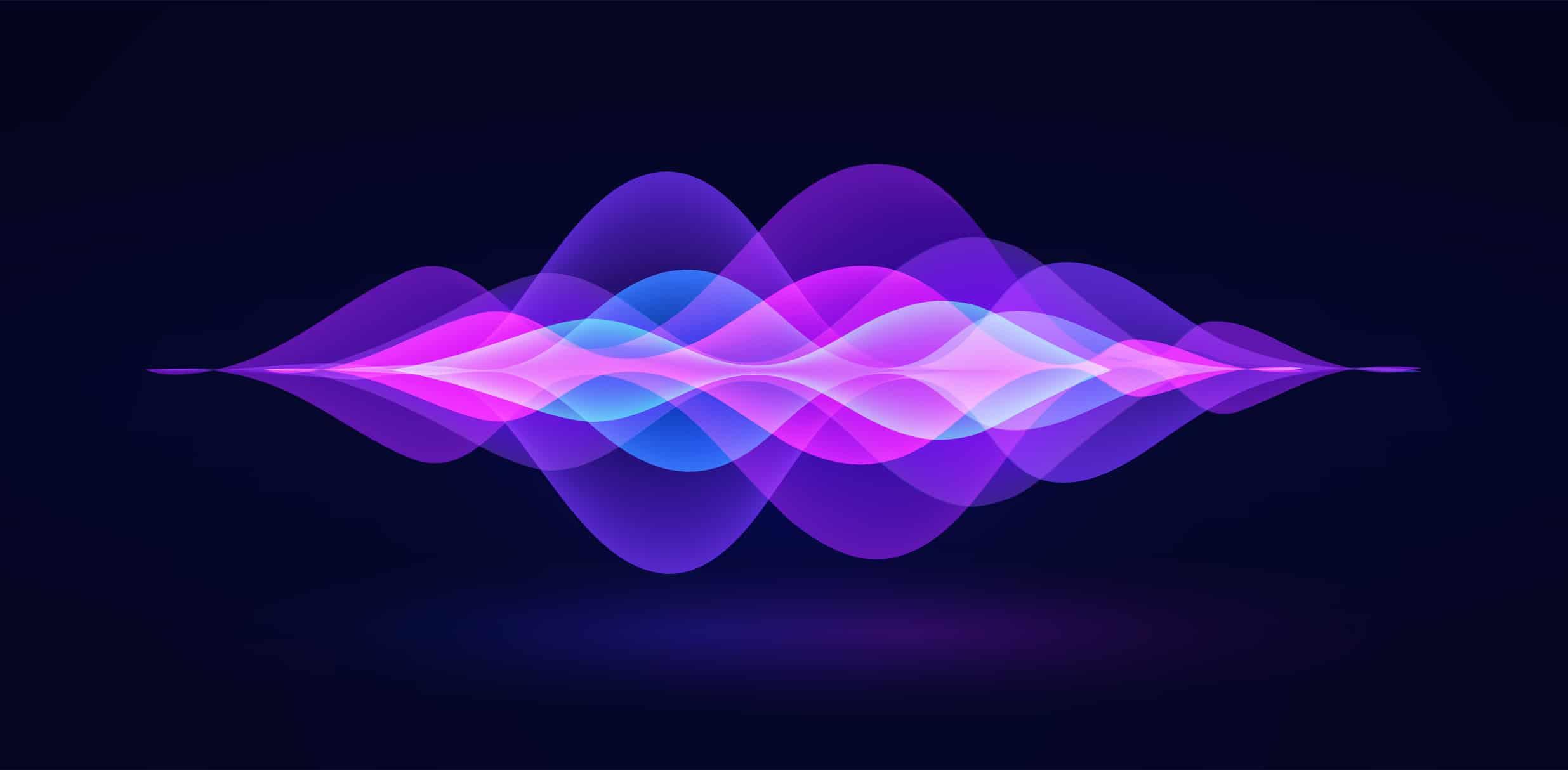 Representação visual de ondas sonoras