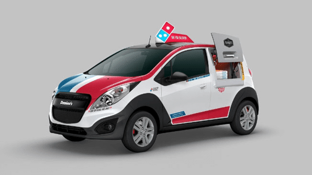carro exclusivo para delivery