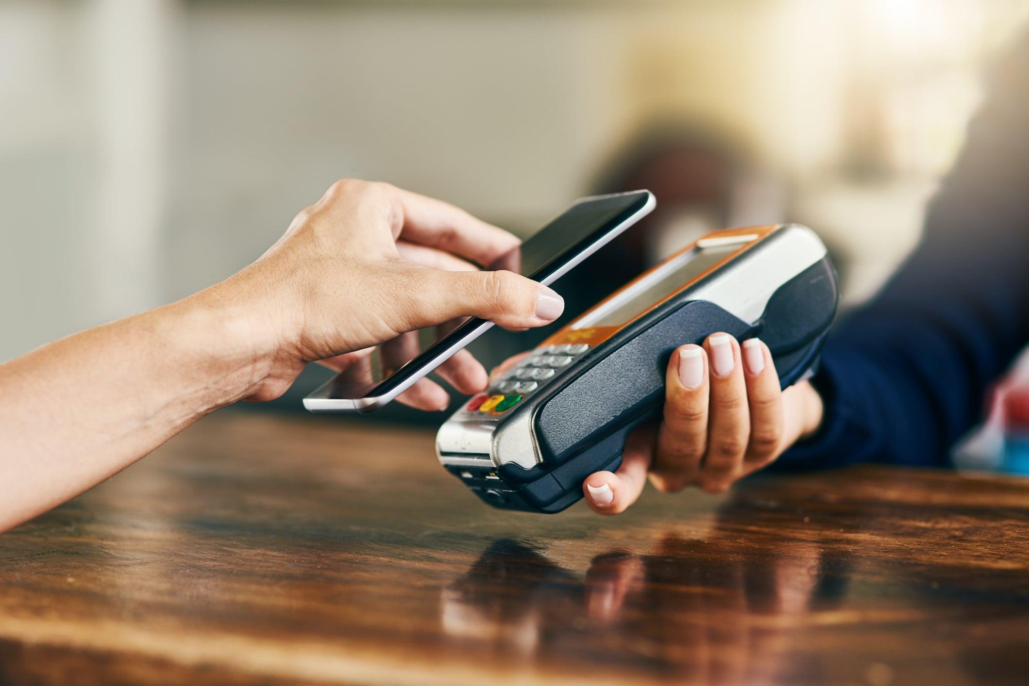 O crescimento do pagamento sem contato