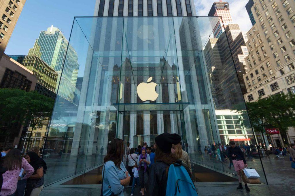 Loja da Apple na Quinta Avenida, Manhattan