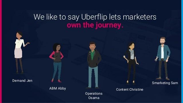 Uberflip - a recompensa