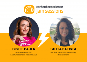 Customer Experience Gisele Paula Webinar Jam Session