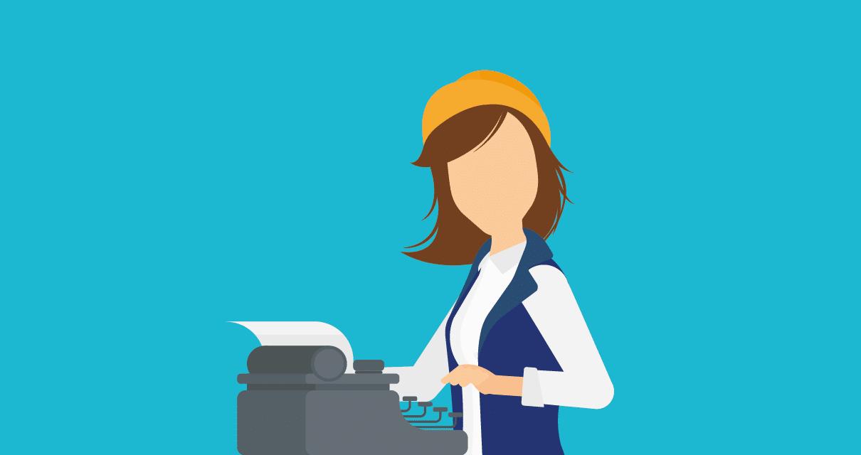Uma redatora freelancer atendendo os jobs de um marketplace de freelance