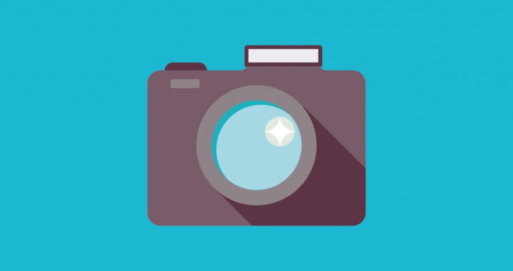 Uma câmera fotográfica para tirar boas imagens para impressionar seus leitores