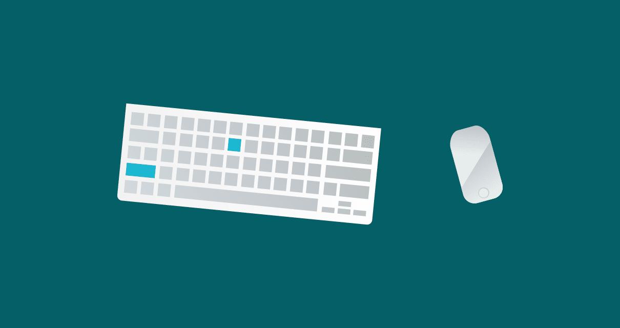 Teclas de atalho que ajudam na revisão e na revisão