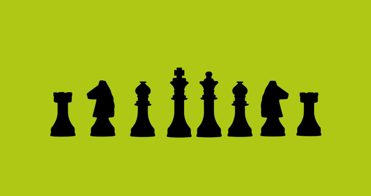 jogo de xadrez representando uma estratégia de SEO