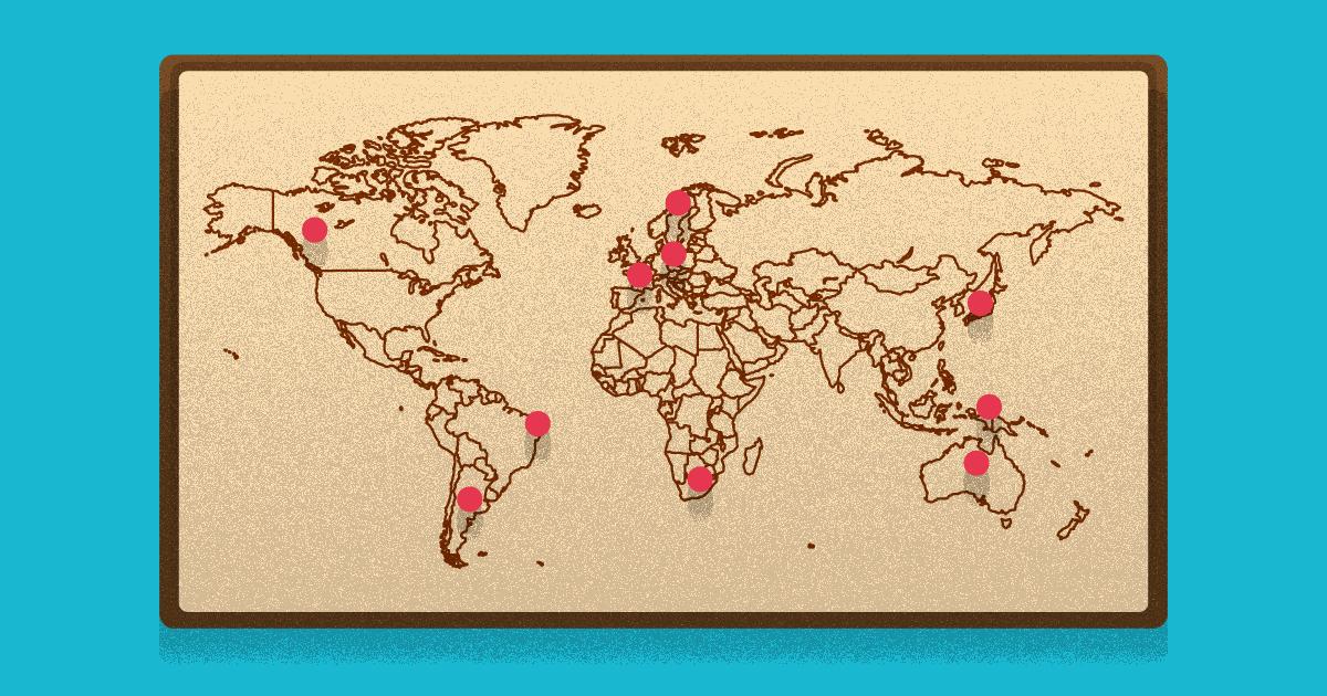 melhores destinos para freelancers