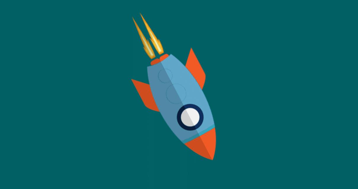 foguete caindo