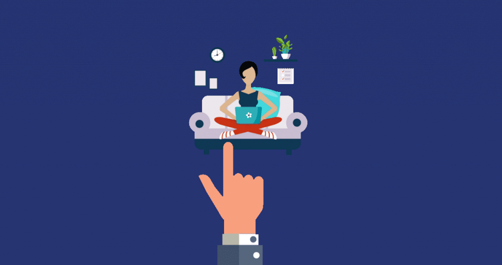 profissional que tem o necessário para ser um freelancer sendo escolhido por um cliente