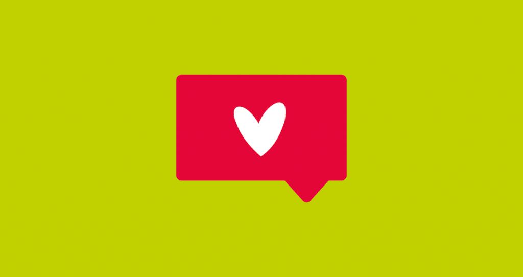 posts em redes sociais