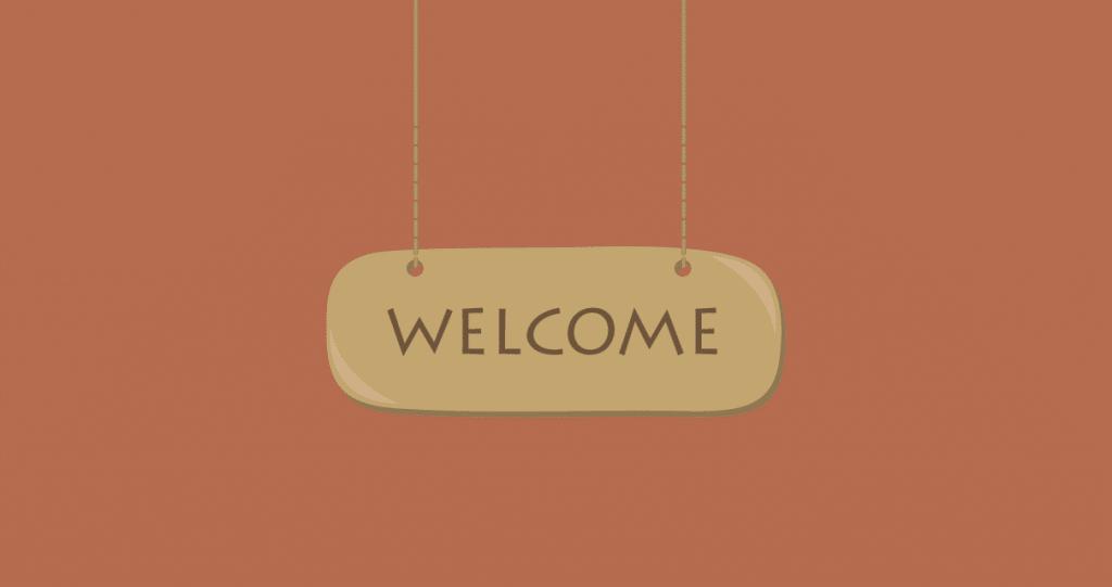 fluxo de boas-vindas