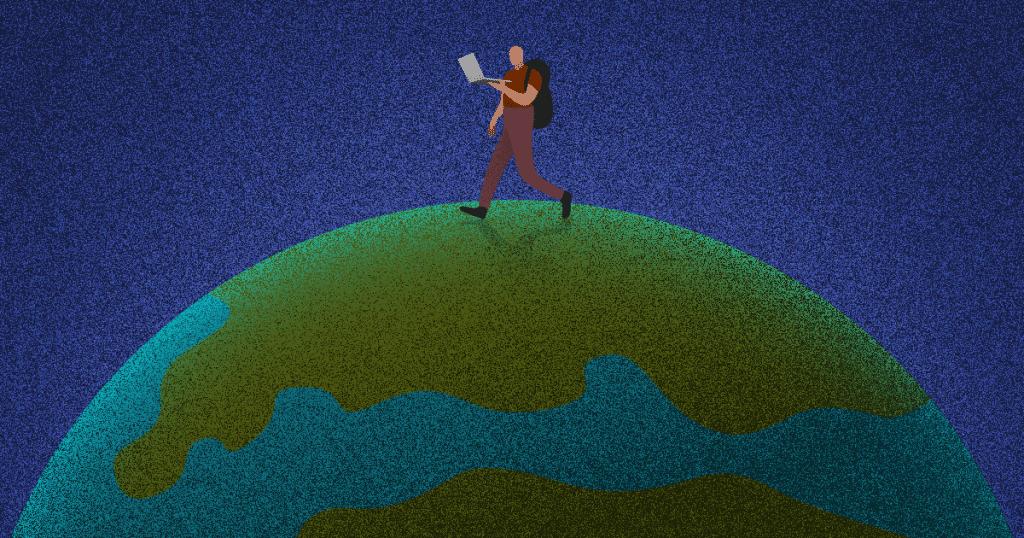 conhecer o mundo como freelancer