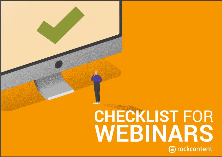 Checklist para webinars
