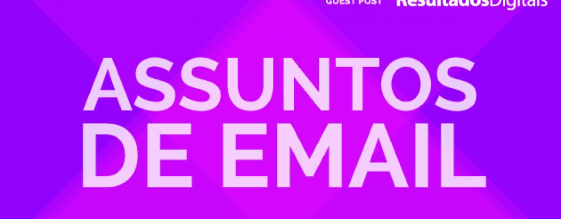 assuntos de email