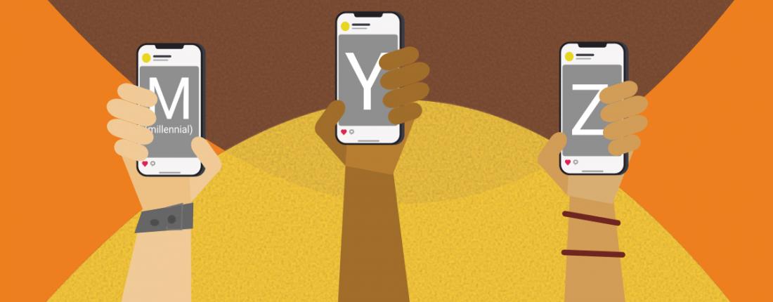 Dossiê das gerações: o que são as gerações millennials, Y, Z e como sua marca pode alcançá-las