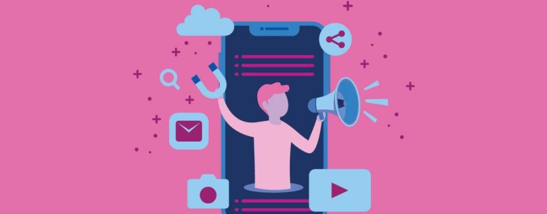 integração de redes sociais
